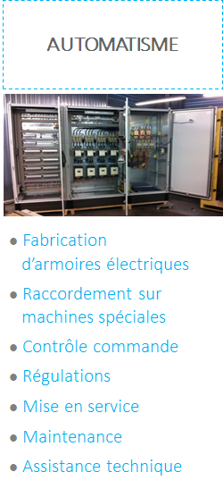 nos metiers automatisme