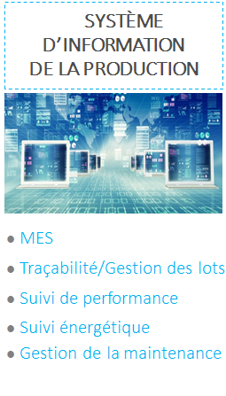 nos metiers systeme information production